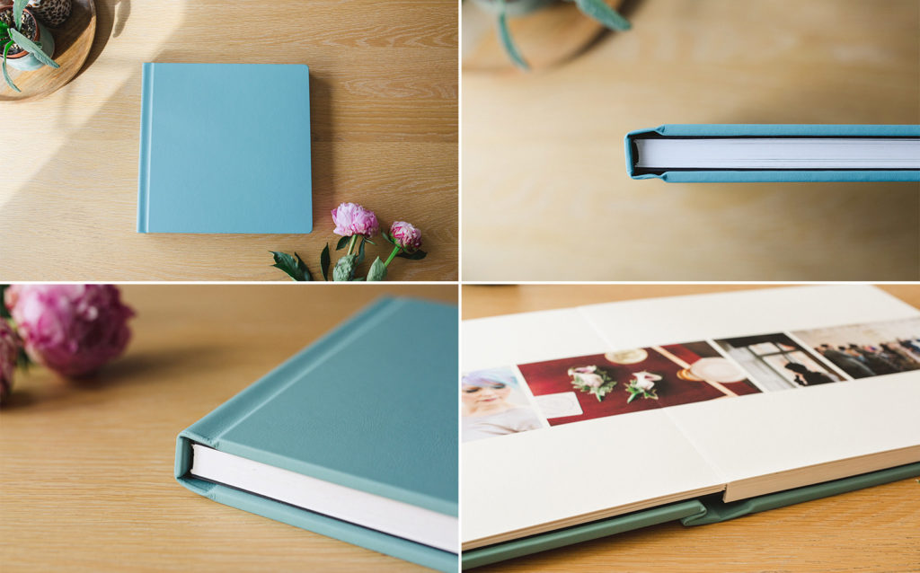 Photos of Fine Art Wedding Albums
