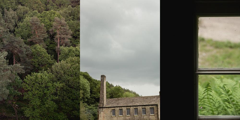 details of the Gibson Mill wedding venue in hebden bridge