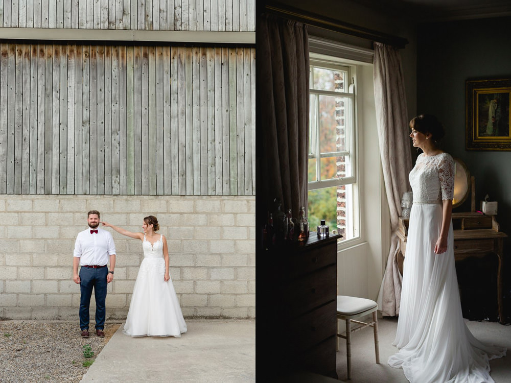 relaxed and fun wedding portraits in York