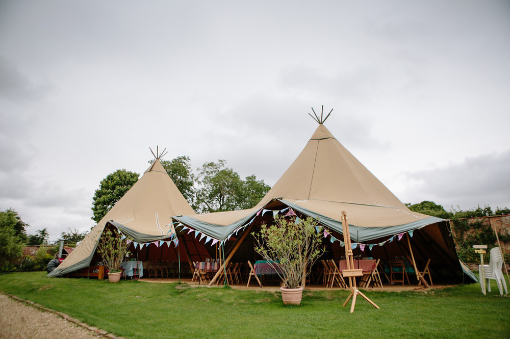 Photo of Talton Lodge Tipi Wedding Venue